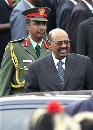 Sudanese President Omar Hassan al Bashir