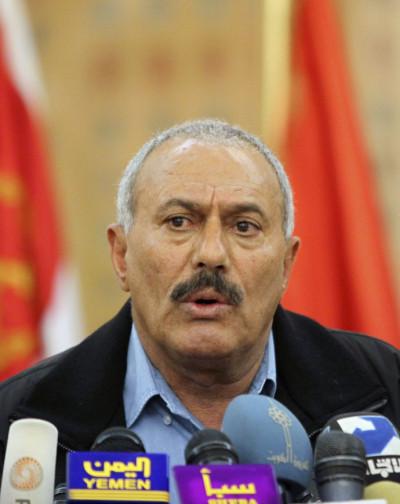 Yemens President Ali Abdullah Saleh