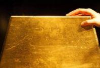 Giant gold bar
