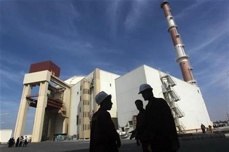 Iran nuclear plant Bushehr
