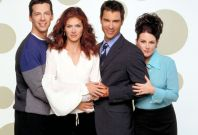 """The cast of the NBC television series """"Will & Grace"""""""
