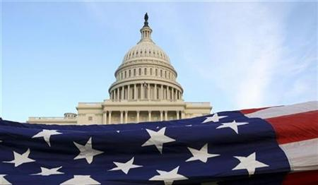 Flag Ceremony at the U.S. Capitol in Washington