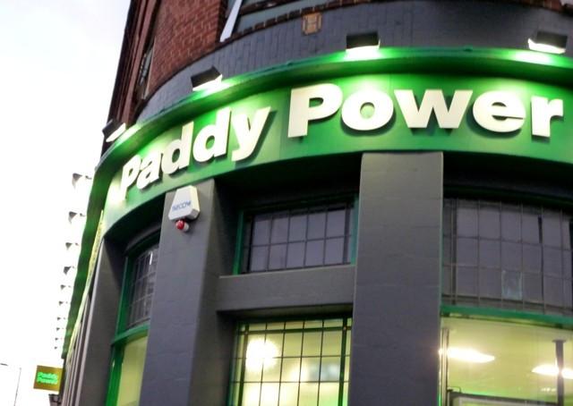 Irish bookmaker Paddy Power.