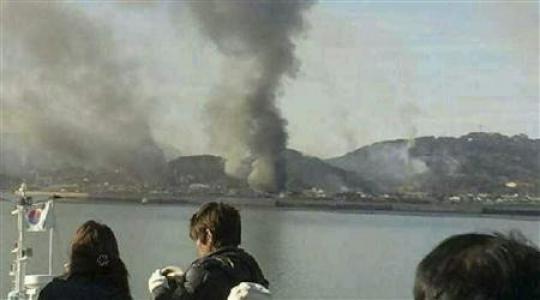 Two Koreas exchange fire across maritime border
