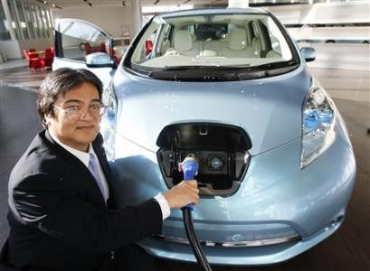Vending machines in Japan to charge electric cars