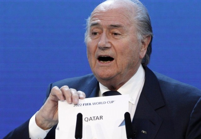 FIFA President Sepp Blatter is running against Mohamed Bin Hammam on 1 June