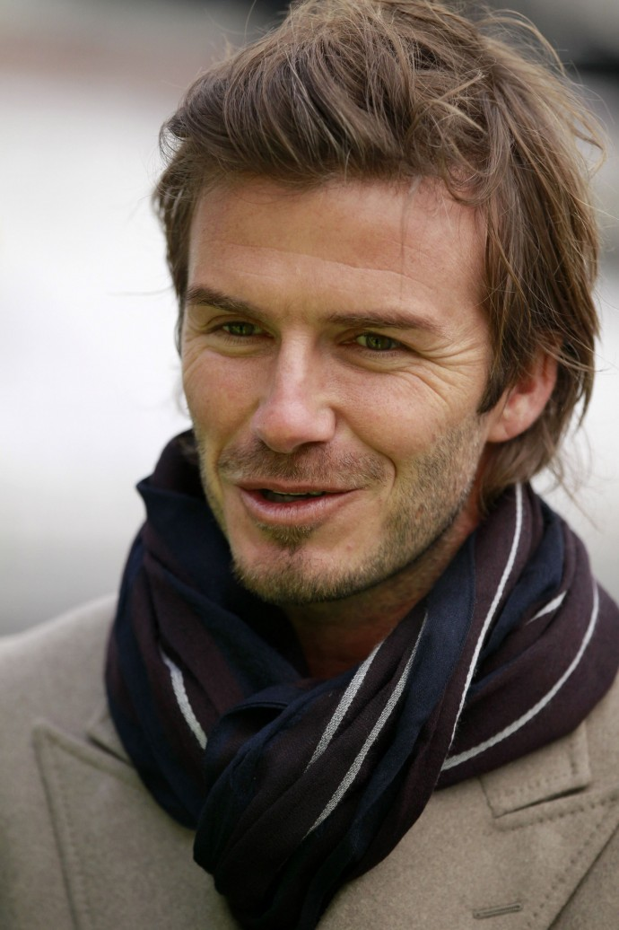 English football superstar David Beckham received the BBC Sports Personality Lifetime Achievement award in the 2010 BBC Sports Personality of the Year awards.