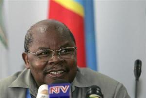 Tanzania's former president Benjamin Mkapa
