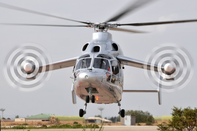 Roll-Royce powered Eurocopter X3