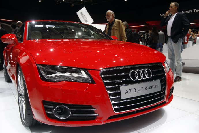 Audi breaks record sales in the U.S.