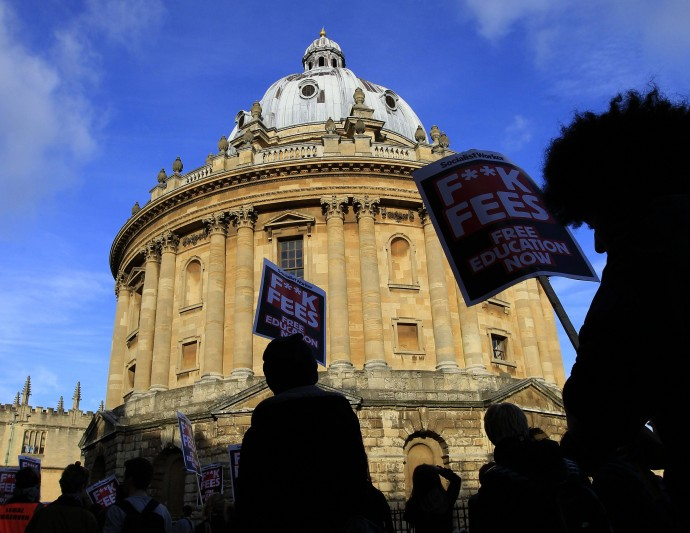 Oxford will have to discriminate against private school students.