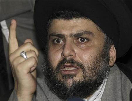 Iraqi Shiite cleric Moqtada al-Sadr