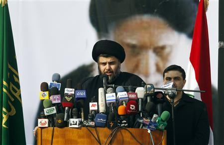 Sadr urges Iraqis to oppose U.S., but peacefully
