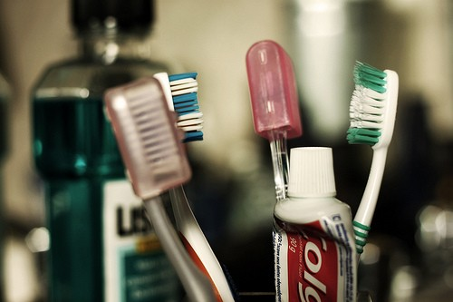 Basic white toothpastes are better than gel formulations. Use a soft to medium brush to clean your teeth. Change your brush every two to three months.