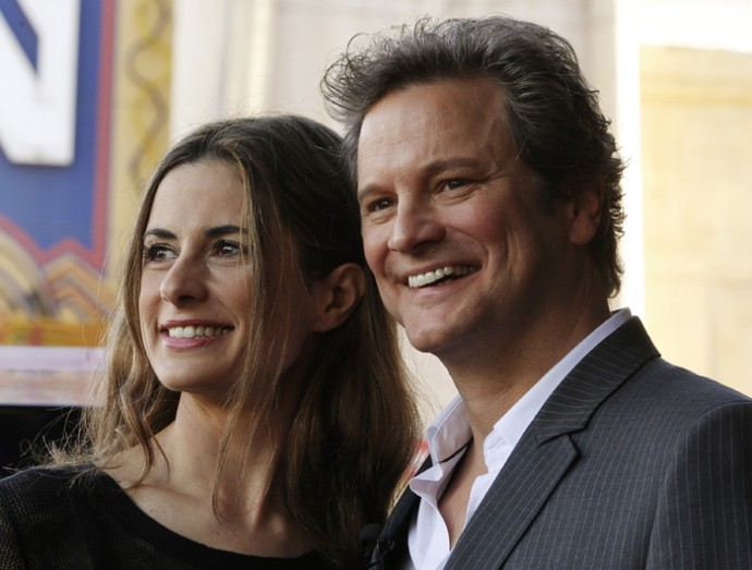 Colin Firth Awarded CBE by Prince Charles at Buckingham Palace