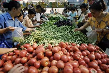 China inflation measures place pressure on dollar to drop