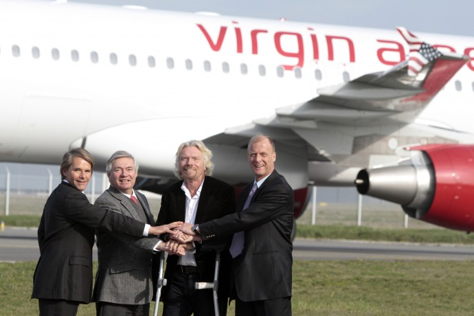 Sir Richard Branson of Virgin Group