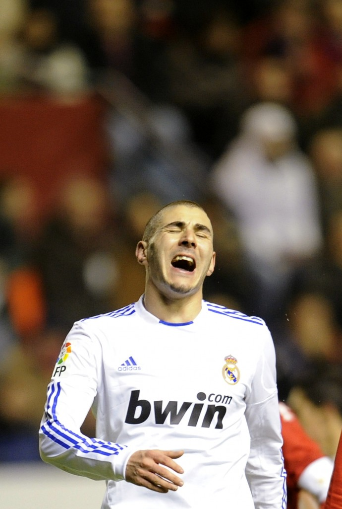 However, Real continued making and missing chances, with Benzema one of the main culprits.
