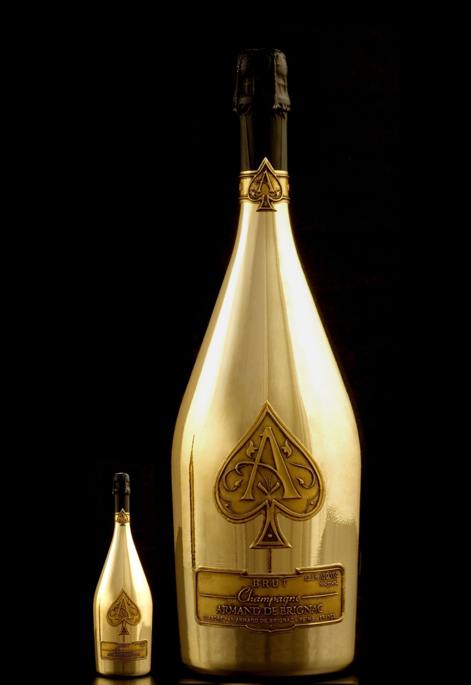 Midas: World's largest luxury champagne bottle.