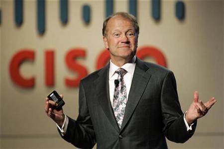 John Chambers, CEO of Cisco Systems (Nasdaq: CSCO)