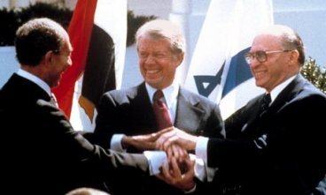 Israel, Egypt sign peace treaty