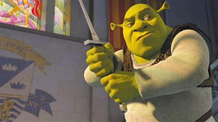 4. Ogre costumes of 'Shrek'