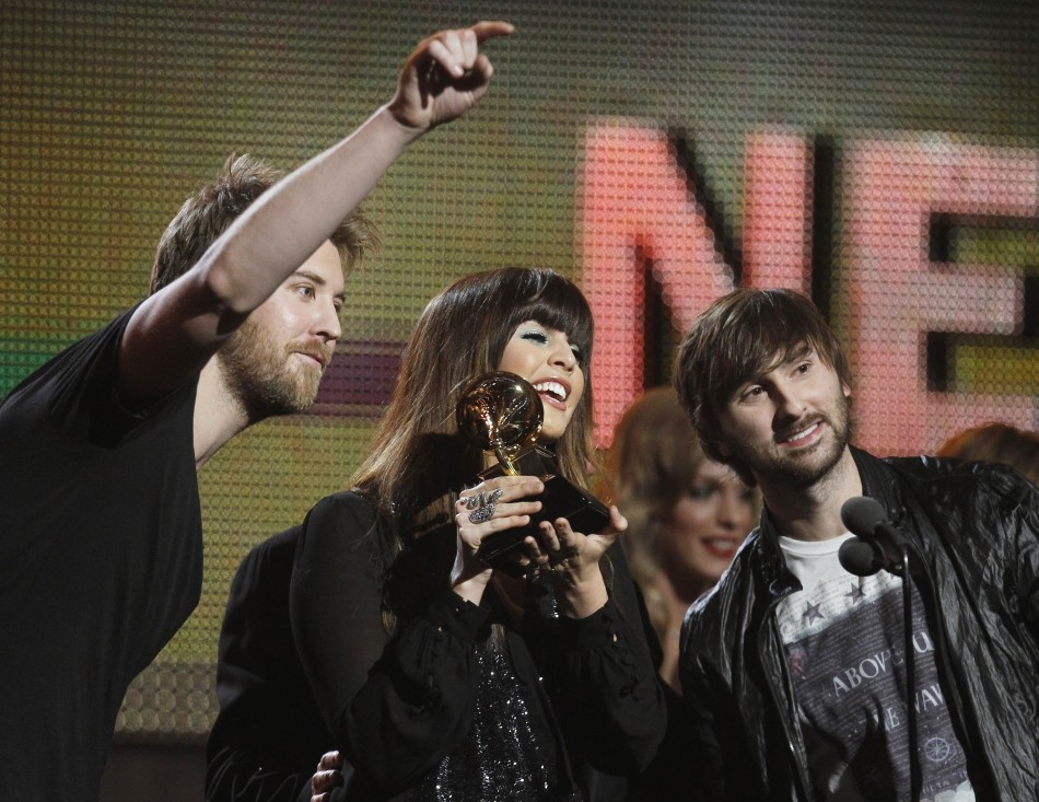 "Lady Antebellum wins Song of the Year award for ""Need You Know"" at 53rd Grammys"