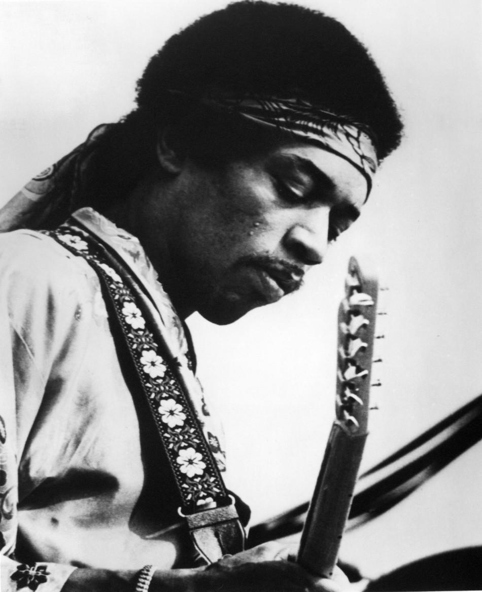 3. Jimi Hendrix