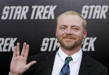 Simon Pegg Plans to Live Long and Prosper