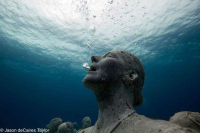 The underwater human reef
