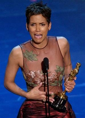 Oscar winner, Halle Berry.