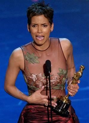 Oscar winner, Halle Berry.