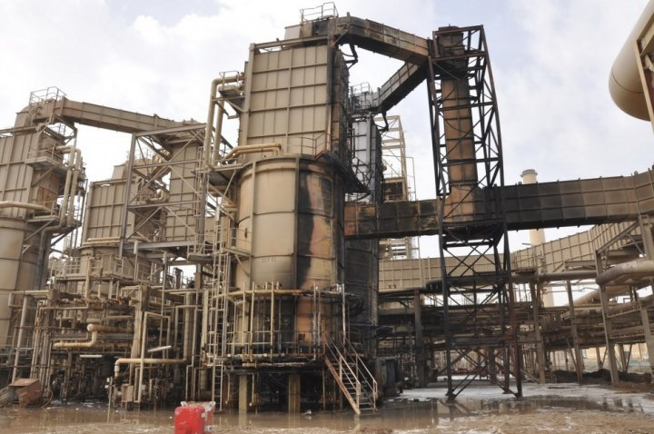 Iraq's largest oil refinery, Baiji