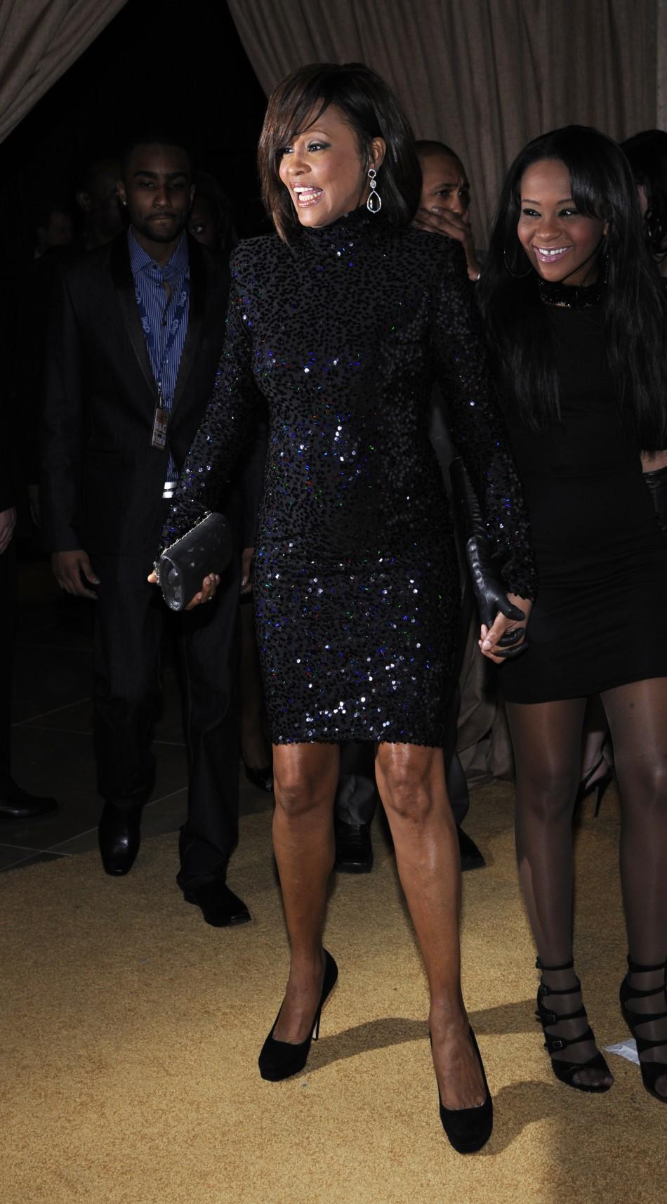 Whitney Houston and daughter Bobbi Kristina Brown