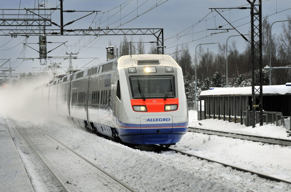 Allegro train, Finland & Russia