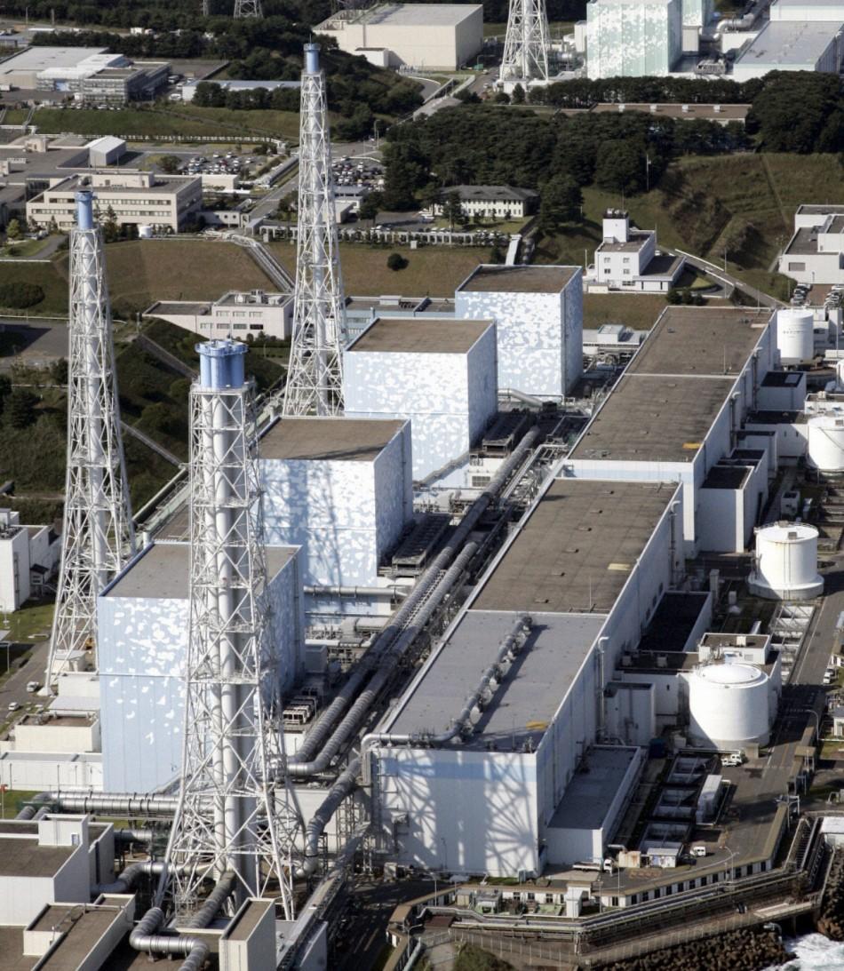 File photo of Tokyo Electric Power Co.'s Fukushima Daiichi Nuclear Plant