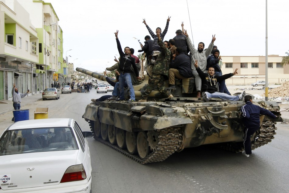 Rebels repel assault on Misrata, five dead