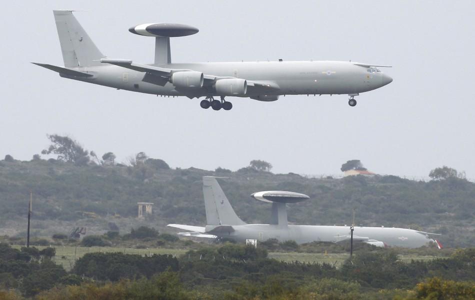 Nato Awacs Turkey airspace