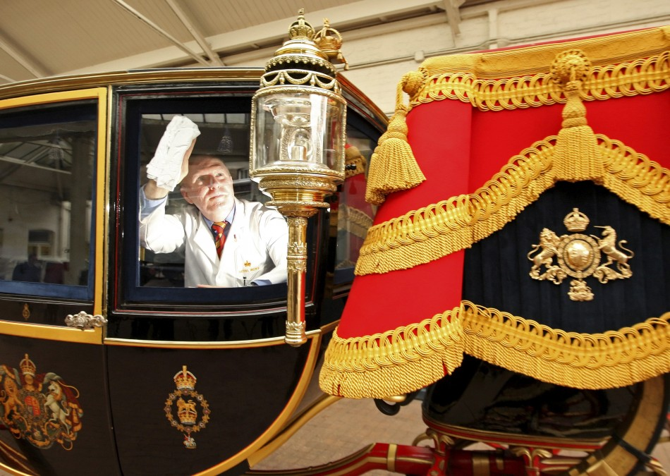 The Royal Couple's Carriage