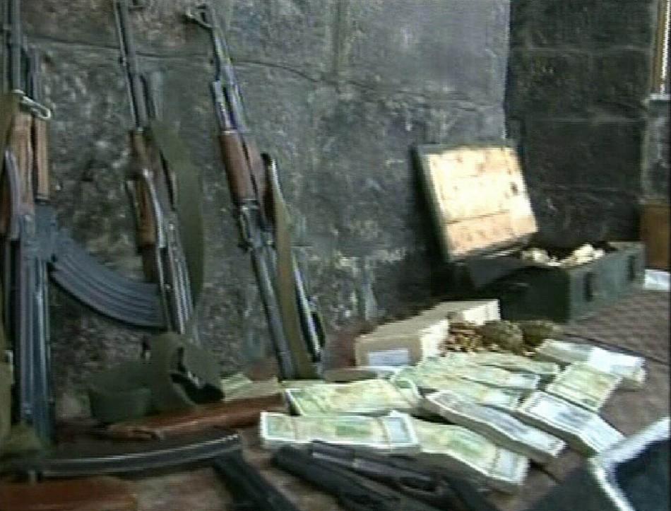 Grenades and ammunition