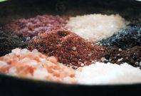 Various kind of salts
