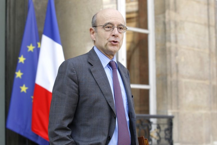 France's Foreign Minister Alain Juppe