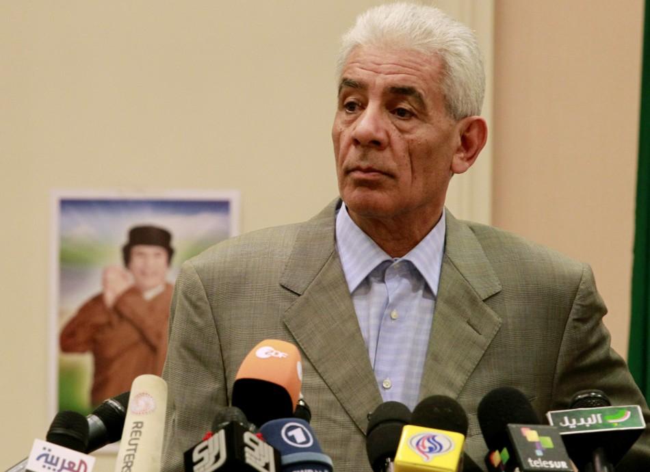 Libya's ex Foreign Minister Moussa Koussa
