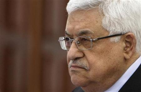 Palestinian President Mahmoud Abbas attends a meeting for the Palestine Liberation Organisation in the West Bank city of Ramallah