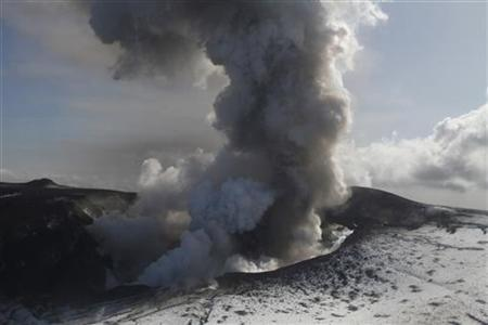 Climate Change Causes Volcanoes and Tsunamis