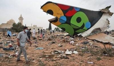 Libyan Afriqiyah Airways plane crashes at Tripoli airport