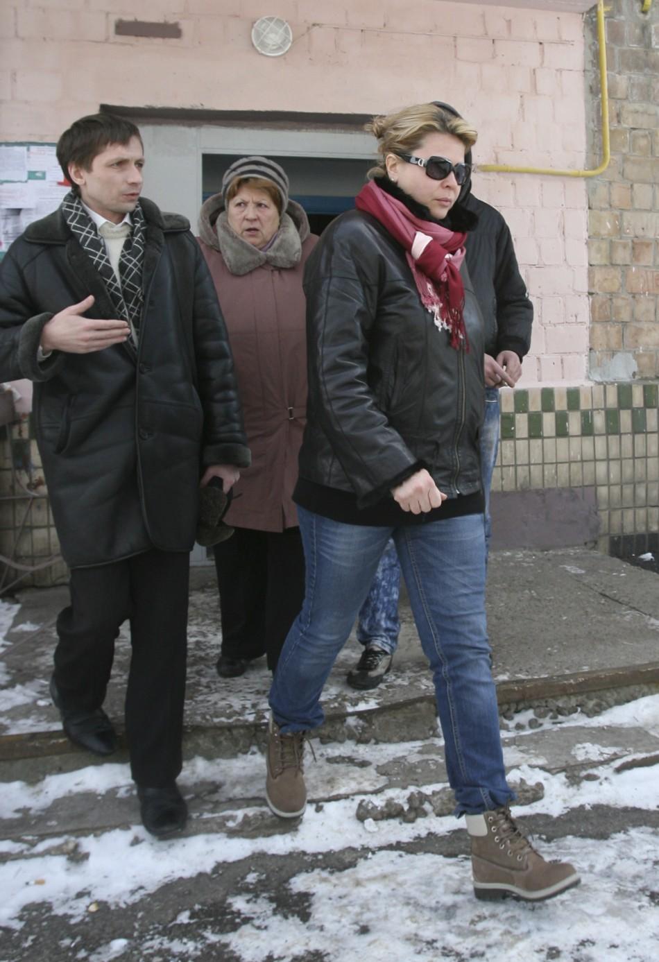 Gadhafi's Ukrainian nurse Galyna Kolotnytska