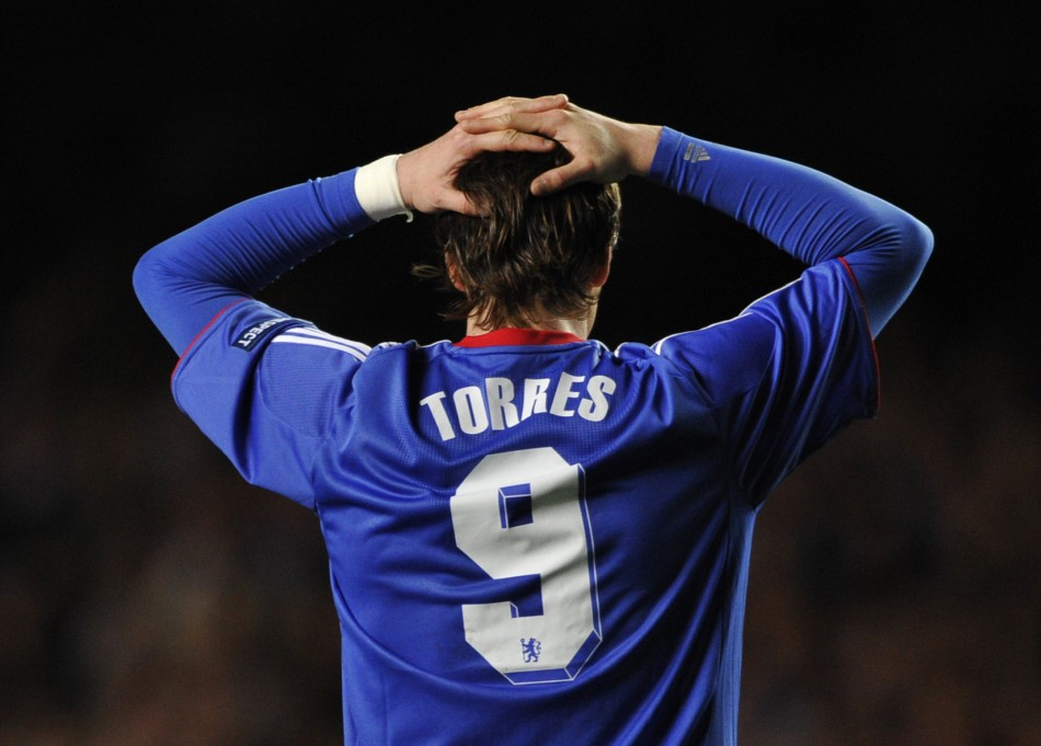 Troubled striker Fernando Torres