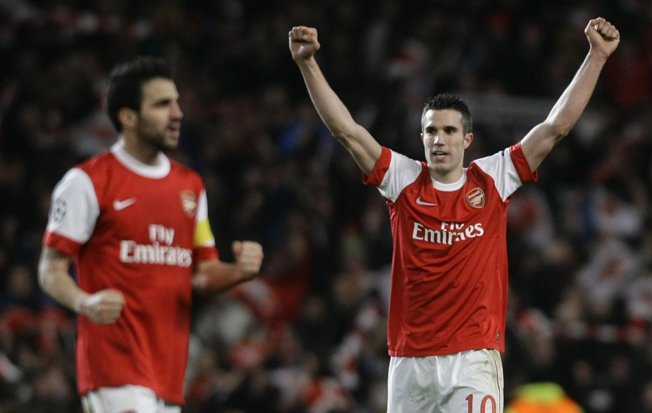 Arsenal have told Barcelona that Fabregas will cost them £50m.