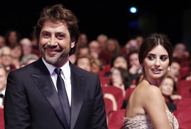 Javier Bardem with wife Penelope Cruz